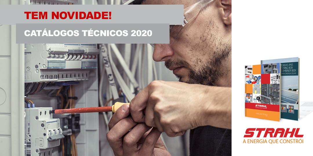 Está Disponível o Catálogo Técnico 2020 STRAHL. Confira!